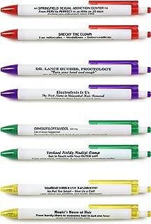 Fred BORROW MY PEN Subversive Pen Set, Set of 8