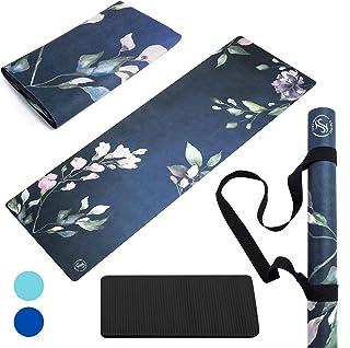 Foldable Lightweight - Thin Light Non-Slip Travel Yoga Mat Eco