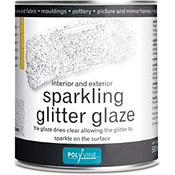 Glitter Fabric Adhesive For Glitter Wallpaper Glitter Stairs Strong 500ml Tin