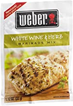 Weber Marinade Mix, White Wine & Herb - 1.12 oz packet