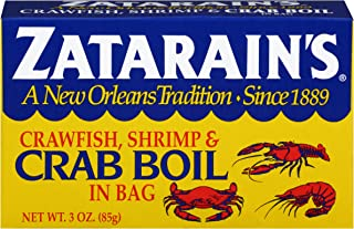 Zatarain's Crawfish, Shrimp & Crab Boil, 3 oz(Pack of 6)