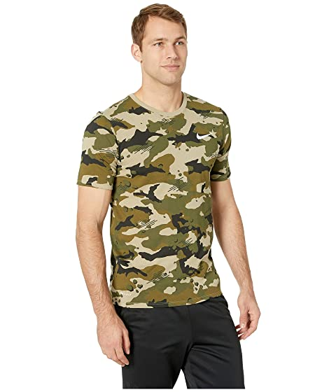 competitive price ff65c c300b NIKE. Dry Tee Dri-Fit Cotton Camo Aop ...