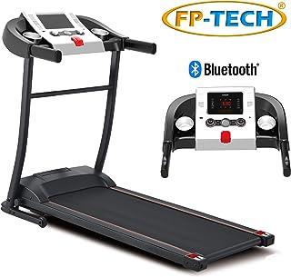 comprar comparacion Cinta de correr eléctrica 1 CV 1000 W de gama alta con Bluetooth, aplicación, reproductor MP3 y USB