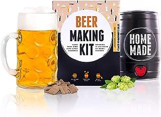 Regalos Originales Kit para elaborar Cerveza Estilo Oktoberfest en Casa - Producto de Alemania - Disfruta tu cerveza en sólo 7 días - Brewbarrel