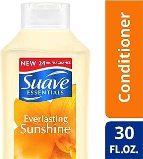 Suave Essentials Conditioner, Everlasting Sunshine, 30 oz (Pack of 6)