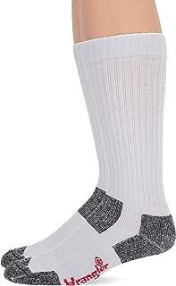 Men's Steel Toe Boot Ultra-dri Work Crew Socks 2 Pair Pack
