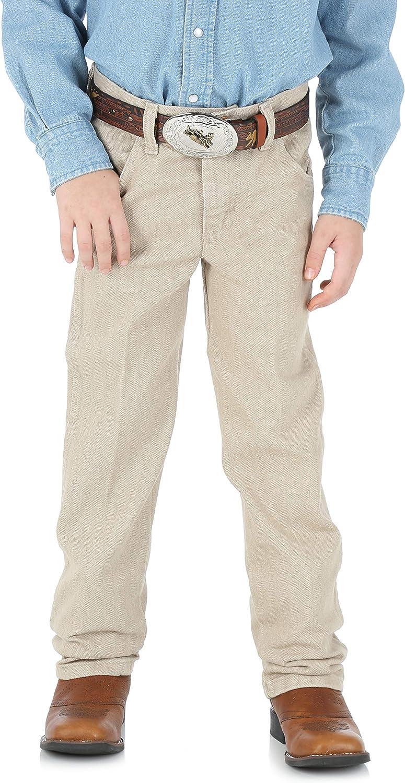 Quality inspection Wrangler Boys' Little 13mwz Cowboy Jean Fit Excellent Cut Original