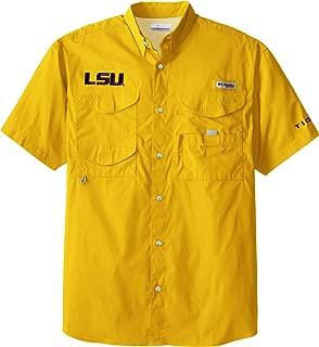 NCAA LSU Tigers Collegiate Bonehead Short Sleeve Shirt