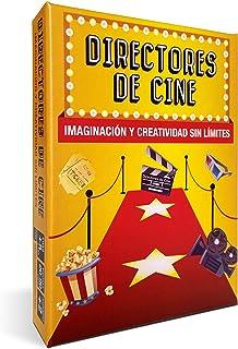 DIRECTORES DE CINE 📽️ - Juegos de Mesa Familiares. Divertidísimo Juego de Cartas para una Imaginación y Creatividad sin Límites