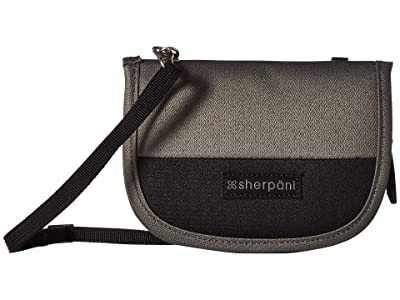 Sherpani Zoe (Flint/Raven) Cross Body Handbags