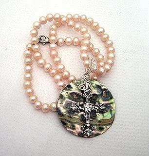 repurposed vintage pearl necklace