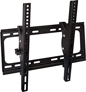 Aewio TV Wall Mount Fit for Most 26-55 Inch LED LCD Flat Screen TV up to VESA 400x400mm and 99lbs Loading Capacity with Ti...