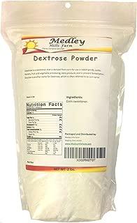 Dextrose Powder 2 lbs by Medley Hills Farm Made in USA
