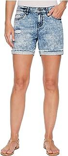 [リバプール] レディース ハーフ&ショーツ Elliot Boyfriend Shorts with Destruct in [並行輸入品]