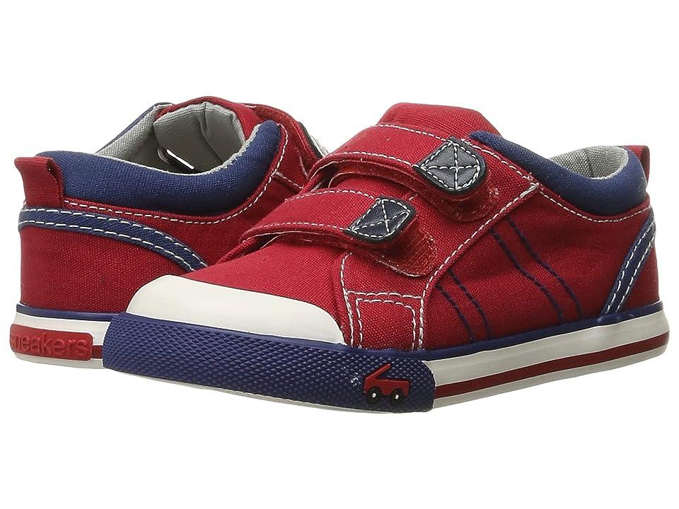 See Kai Run Kids Hess II (Toddler) (Red/Navy) Boys Shoes