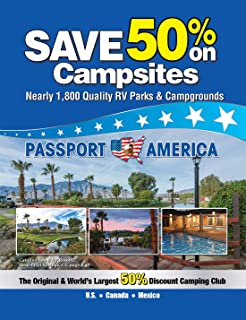 1 Year Passport America Discount Camping Card & Directory