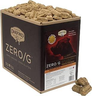 Darford 15346 Zero/G Roasted Lamb Dog Treats, Regular Size/15 Lb