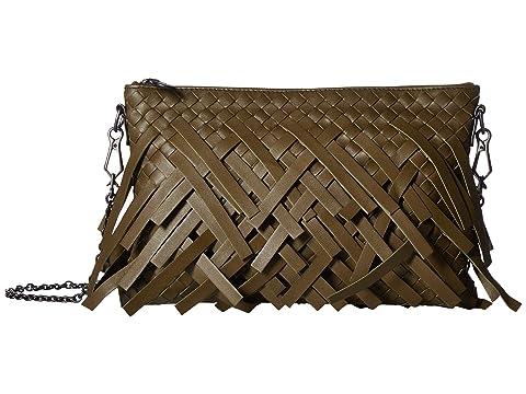 Bottega Veneta Palio Fringes Chain Crossbody Wallet