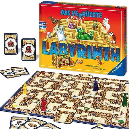 "Ravensburger - 26446 - Jeu de société ""Das verrückte Labyrinth"""