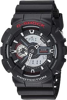 Casio Men's XL Series G-Shock Quartz 200M WR Shock Resistant Resin Color: Black (Model GA110-1ACR)