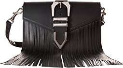 Versus Versace Clutch+Fringes Vitello Opaco