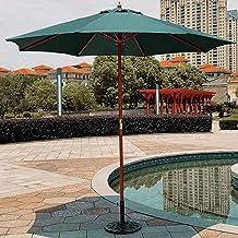 Patio Paraplu, Houten Tuin Parasol Paraplu 2.7m Strand Parasol Houten Parasol Outdoor Paraplu Voor Tuin Strand Patio Vakan...