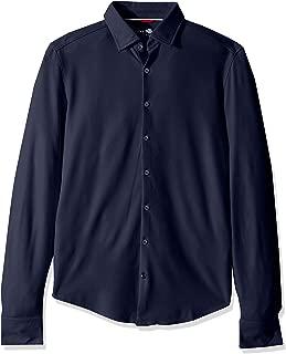 Men's Performance Knit Waffle Ultra Soft Long Sleeve Shirt
