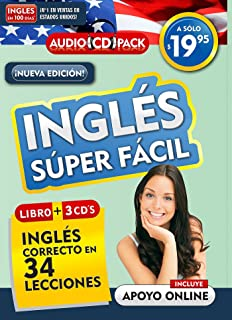Inglés En 100 Días - Inglés Súper Fácil / English in 100 Days - Very Easy English Audio Pack (New Edition)
