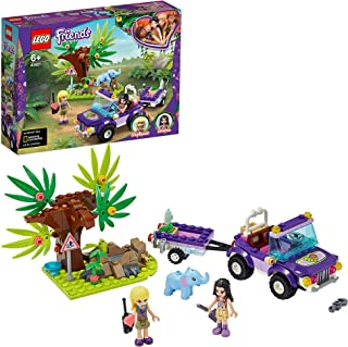 LEGO Friends Baby Elephant Jungle Rescue 41421 building set with 2 mini-dolls and accessories, Toy for Kids 6+ years old (...