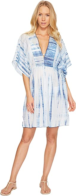 Voile Tie Back Tunic Cover-Up