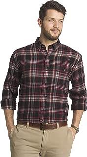 G.H. Bass & Co. Men's Fireside Flannels Long Sleeve Button Down Shirt