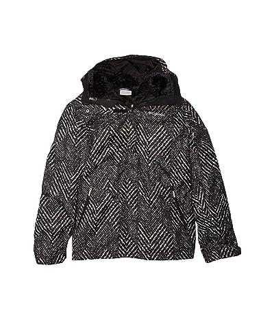 Columbia Kids Bugabootm II Fleece Interchange Jacket (Little Kids/Big Kids) (Black Chevron Print) Girl