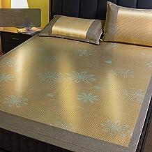 Summer Washable Rattan mat 1.8m Bed Student Dormitory 1.5 Single Household Washable Rattan mat ice Silk mat Folding Winter...