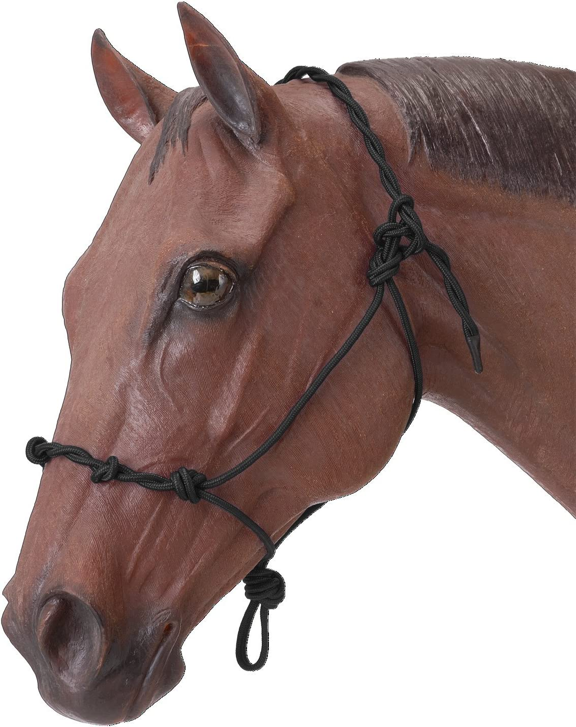 Tough 1 Knotted Safety and trust Now free shipping Rope Training Twisted Crown Halter