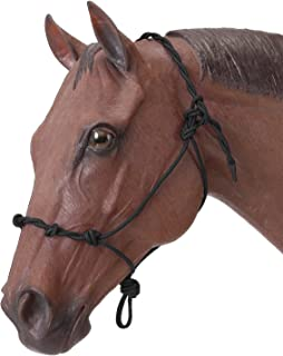 Tough 1 Knotted Rope & Twisted Crown Training Halter