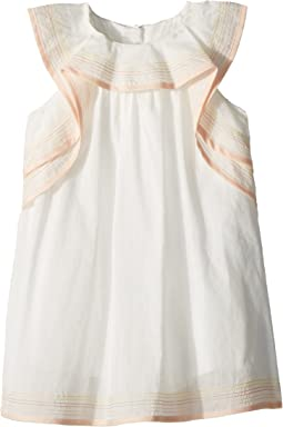 Chloe Kids - Essential Stitching and Ruffle Dress (Infant)