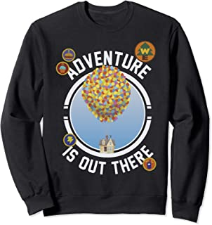 Disney Pixar Up Adventure House Circle Logo Sweatshirt
