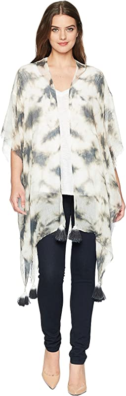 Tie-Dye Long Boho Duster
