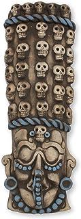 NOVICA 243712 Maya Tzompantli' Ceramic mask