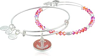 Womens Art Infusion, Anchor Set of 2 Bracelet