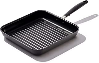 OXO Good Grips Non-Stick Black Grill Pan, 11""