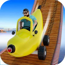 Funny Banana Car Racing: Stunt Extreme Car Top Free Games for Kids
