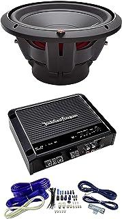 NEW ROCKFORD FOSGATE P2D4-12 12' t Dual 4-Ohm Car Audio Sub + R500X1D Amplifier