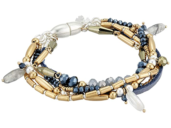 Lucky Brand  5 Layer Bracelet (Two-Tone) Bracelet