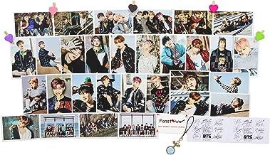 Fanstown Kpop BTS Bangtan Boys WINGS postcards Lomo Cards (BTS WINGS you never walk alone)