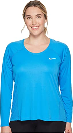 Nike - Dry Miler Long Sleeve Running Top (Size 1X-3X)