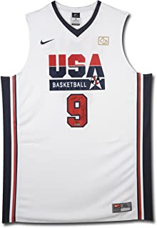 Michael Jordan Signed & Inscribed Nike 1992 Olympic Basketball Jersey, UDA, limited to 109