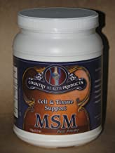 MSM Powder 1kg Kilogram (2.2 lb Pounds) - 5000mg/tsp - Country Health Products