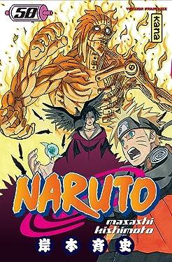 Naruto - Tome 58 (Shonen Kana) (French Edition)