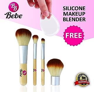 Bebe bambú 4 piezas Mini Kit de maquillaje cepillo Pro tierra ...